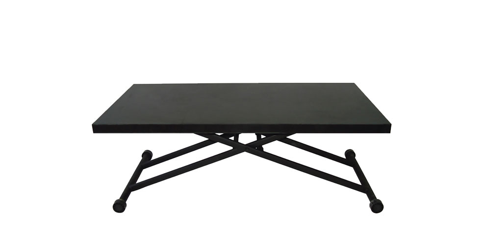 la table relevable en bois wenge