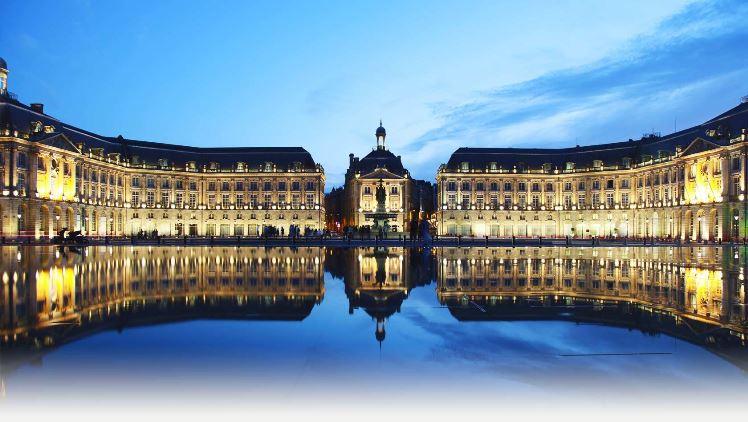 Bordeaux, place de Quinconces