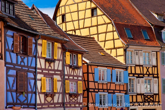 The colorful town of Colmar, Alsace