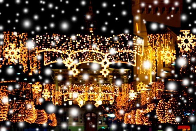 RVF Christmas lights France 2015 - Nimes