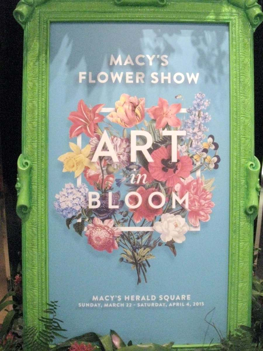 Macy's Flower Show 2015 in NYC