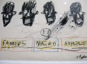 Famous Negro Athletes , Basquiat Unknown Notebooks