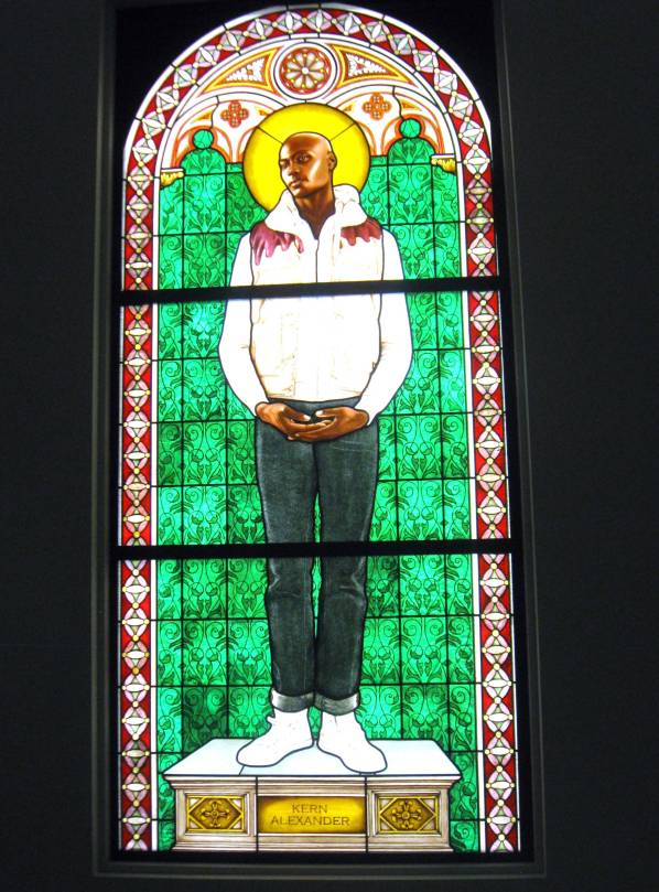 Stained Glass #KehindeWiley