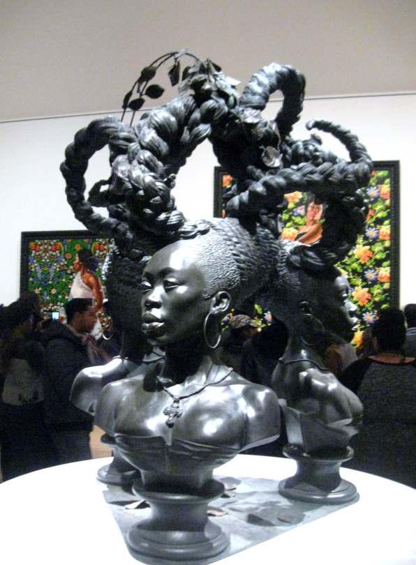 Bound sculpture #KehindeWiley