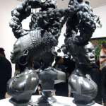 Bound sculpture by Kehinde WIley