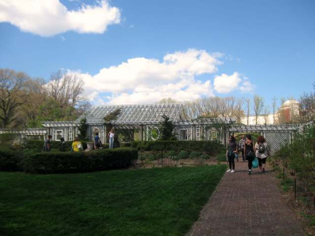 Cranford Rose Garden at the Brooklyn Botanic Garden