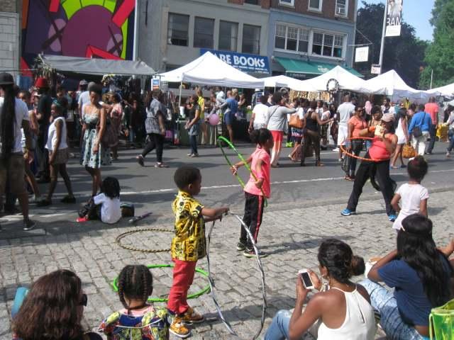 Hula hoop battling!