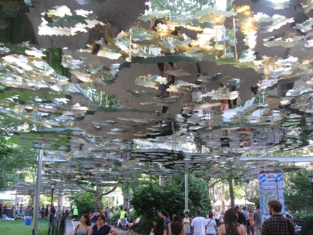 Madison Square Park Art Installation : Fata Morgana
