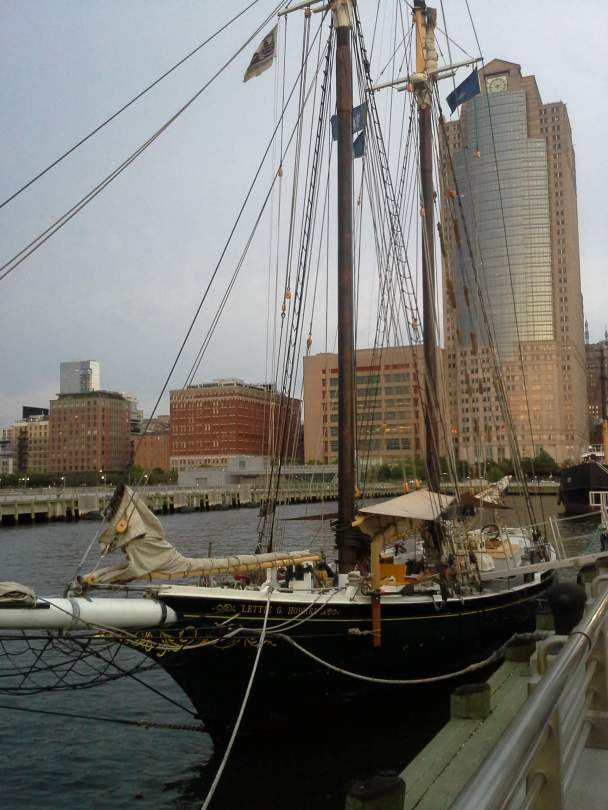 Another Historic Ship Mini Golf at Hudson River Park, NYC Rendezvous En New York