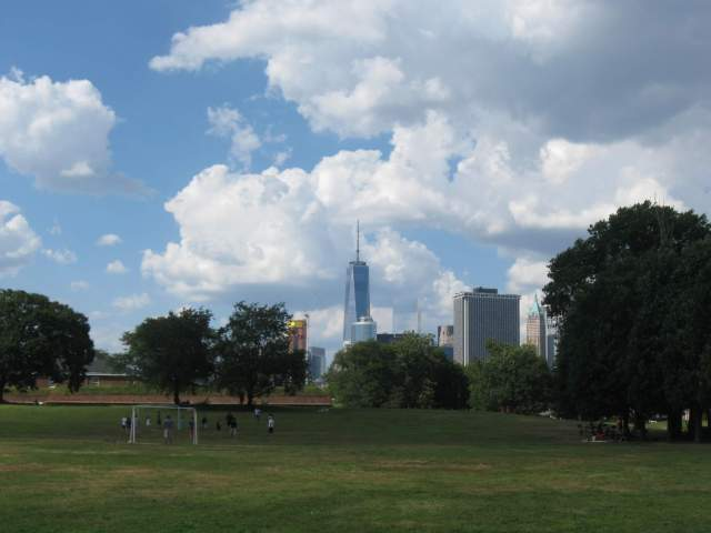 Governors Island View, NYC