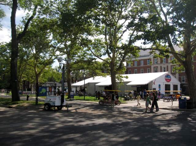 Bike and Surrey Rentals at Governors Island, NYC