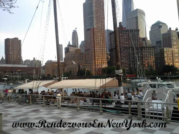 Grand Banks At Hudson River Park