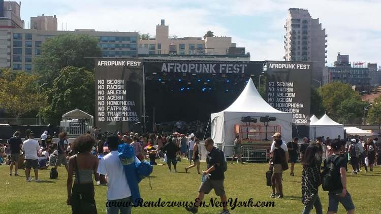 Green Stage At AfroPunk Fest NYC 2015