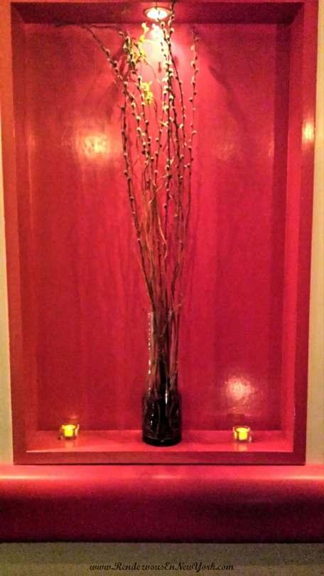 Decor at Red Bamboo, NYC
