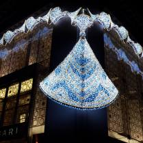 Bulgari is so chic that the building wears jewels.
