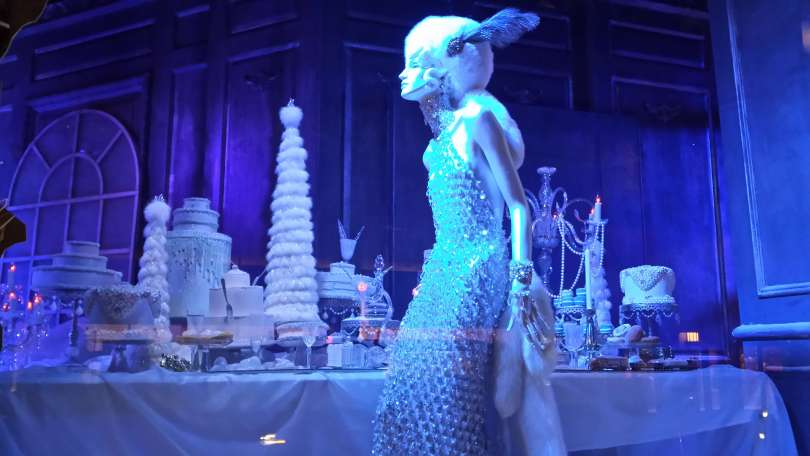 Saks Fifth Avenue Windows in NYC 2015,