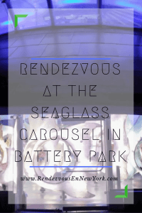 seaglass carousel in battery park , nyc