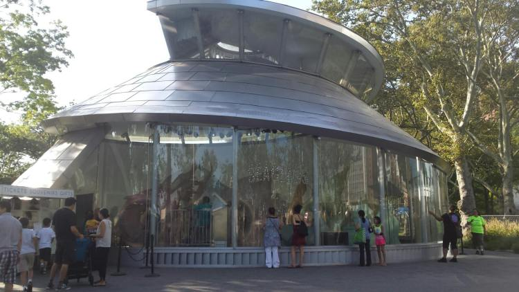 Seaglass Carousel in Battery Park, NYC