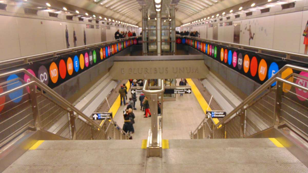 A Second Avenue Subway Rendezvous
