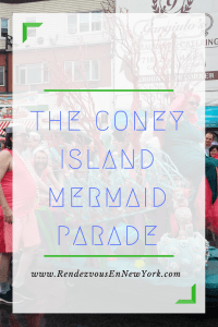 coney island mermaid parade brooklyn, nyc