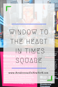 Rendezvous At the Window to The Heart, Rendezvous En New York