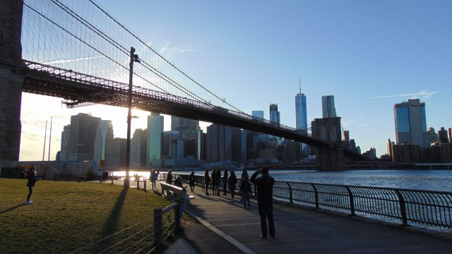 Brooklyn Bridge Park, Rendezvous En New York