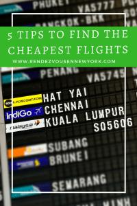 5 tips on finding the cheapest flights , Rendezvous En New York