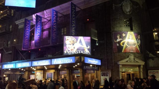 Broadway Show Anastasia in NYC during Broadway Week , Rendezvous En New York