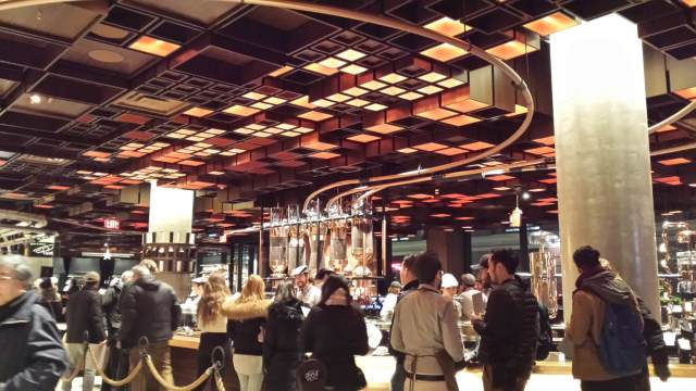 Starbucks Reserve Roastery NYC, Rendezvous En New York