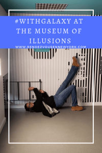 Rendezvous En New York , Museum of Illusions in NYC #withGalaxy