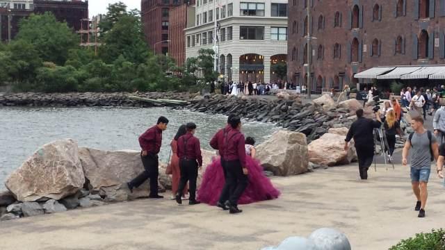 Quinceañeras and weddings at Brooklyn Bridge Park in NYC