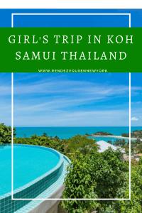 girl's trip in Koh Samui Thailand