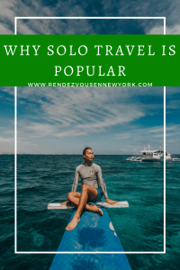 why solo travel is so popular