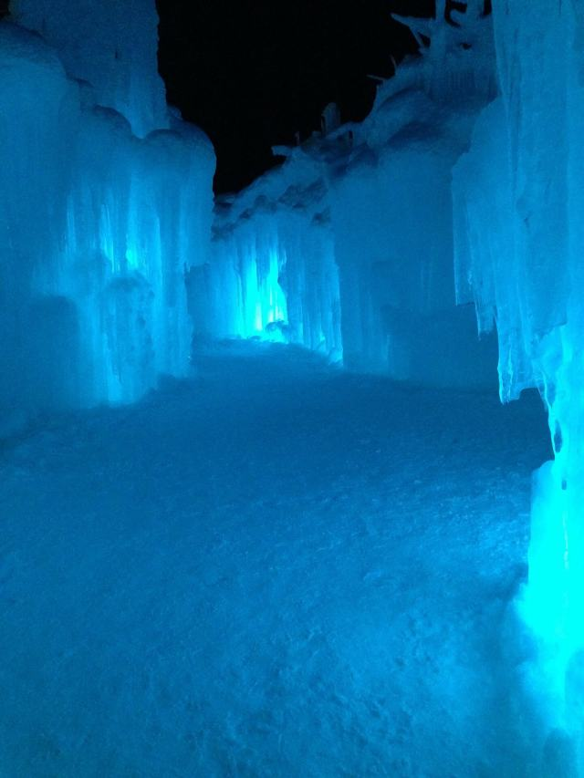 Grotte De Glace in the Swiss Alps