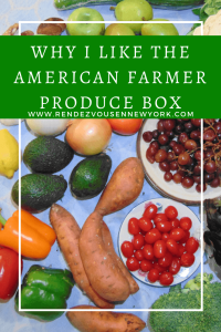 American Farmer Produce Box