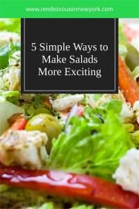 5 Simple Way to Make Salads More Excitng