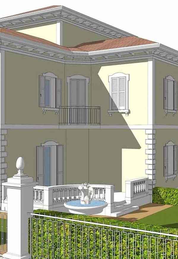 La nuova villa Cenzina - fase conclusiva