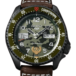 "Seiko 5 ""Street Fighter Guile Model"" Limited Edition SRPF21K1"