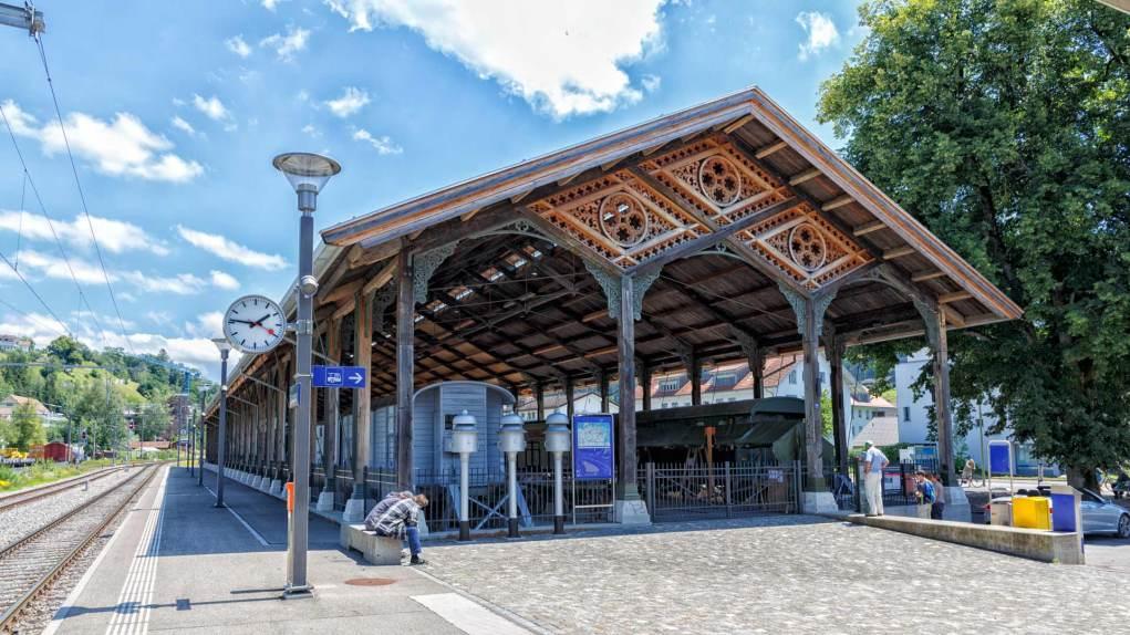 Historische Bahnhofhalle Bauma