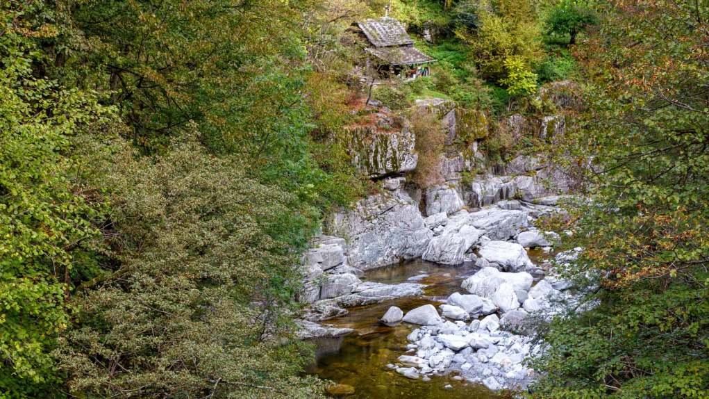Der Fluss Isorno