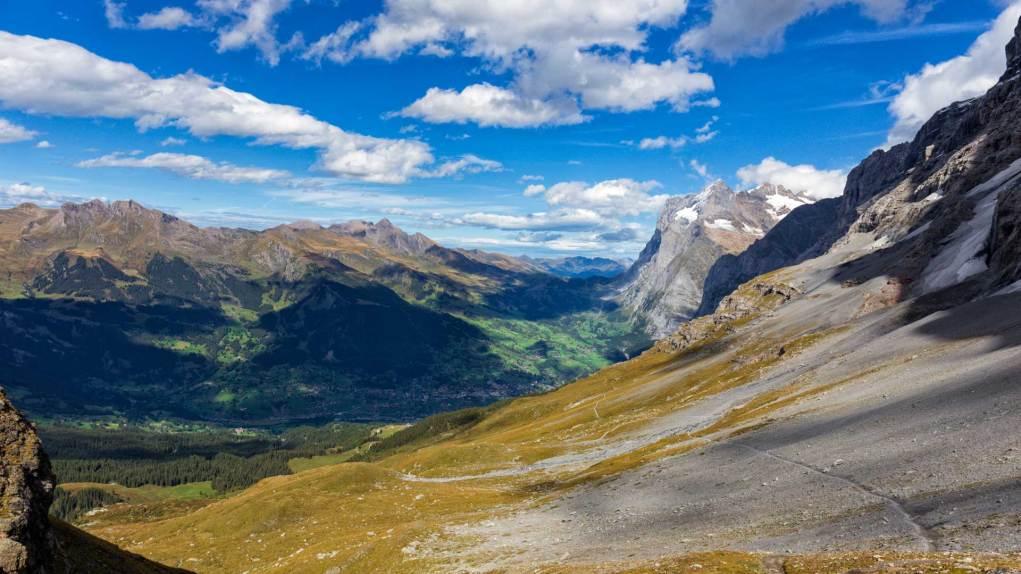 Blick zurück nach Grindelwald