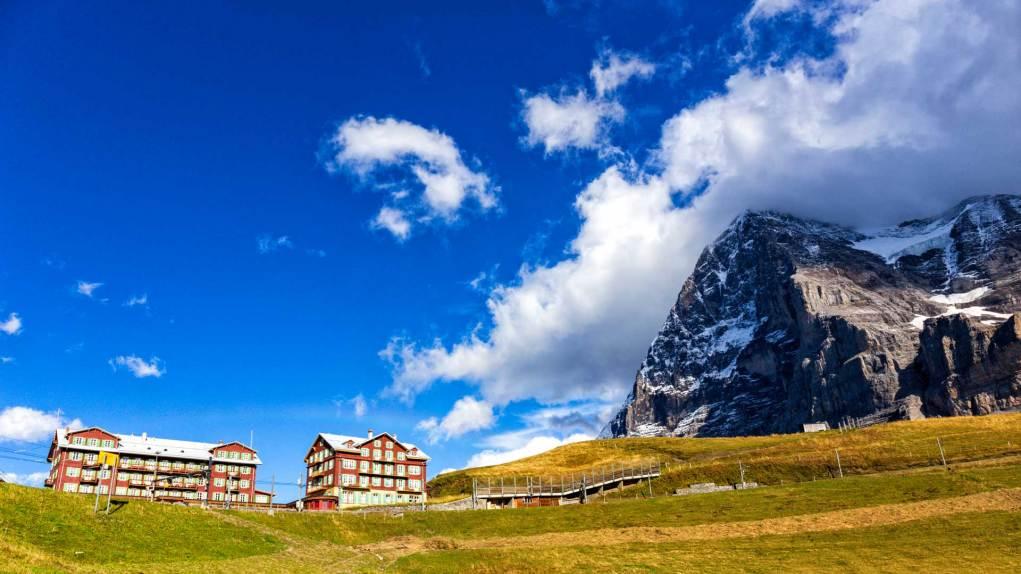 Kleine Scheidegg und Eiger Nordwand