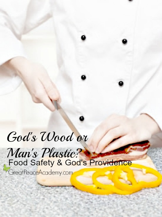 Food Safety and God's Providence. Which is Safer, Plastic or Wood? | Great Peace Academy
