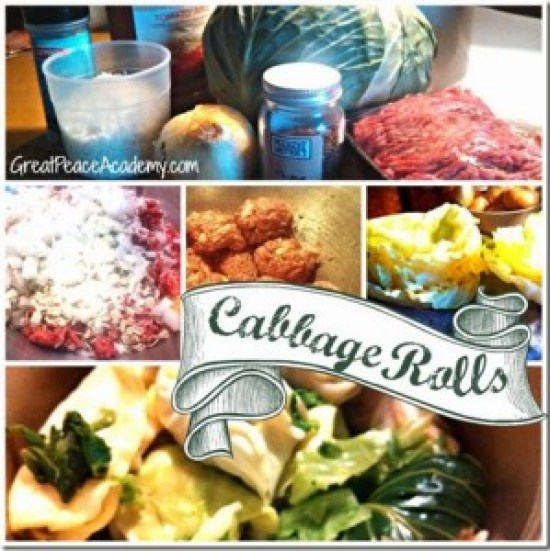 Recipe for Cabbage Rolls