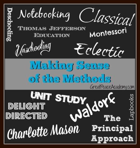 Making Sense of Homeschool Methods