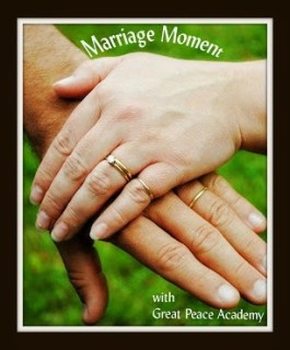 Marriage Moment: This Kiss by Renée at Great Peace Academy