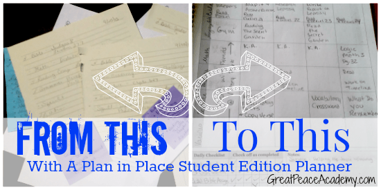 Student Planner Review