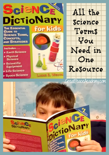 Science Terms in one Easy Resource with Science Dictionary