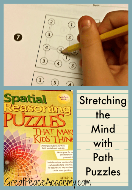 Path Puzzles for Gifted Children