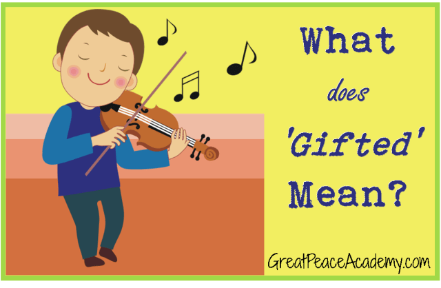 """Defining """"gifted"""""""